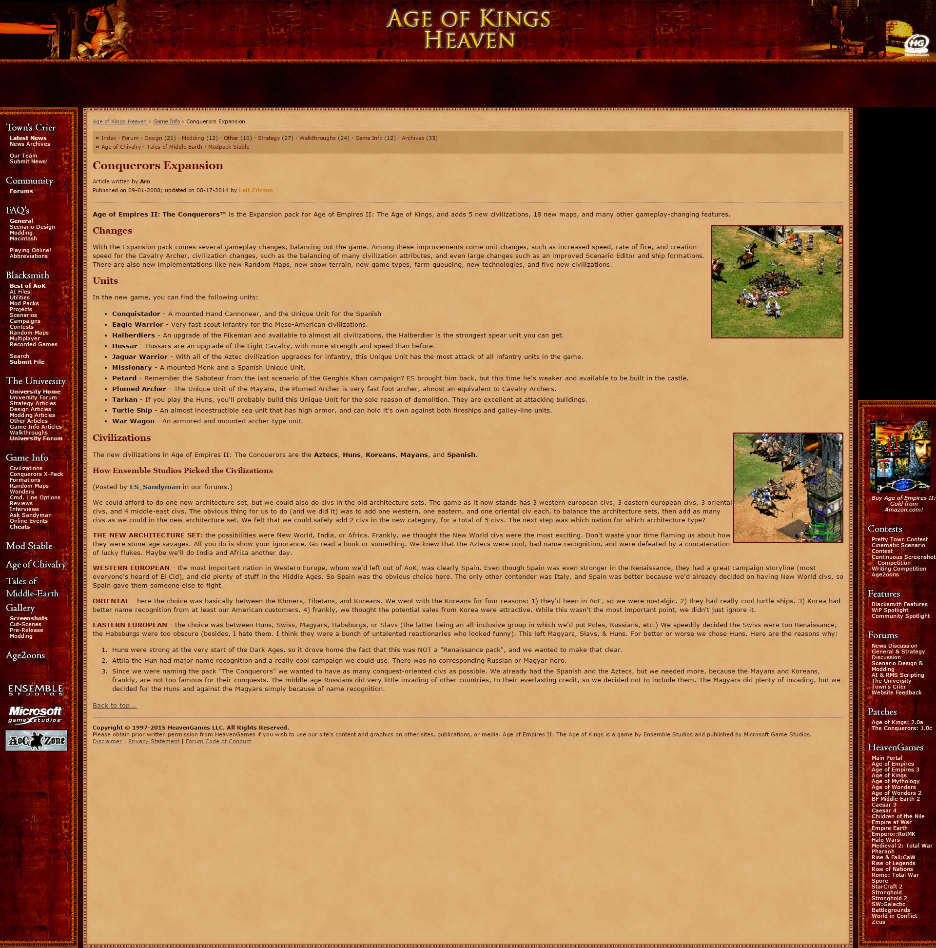 PC] Age of Empires II HD - Strategy Games - GoT