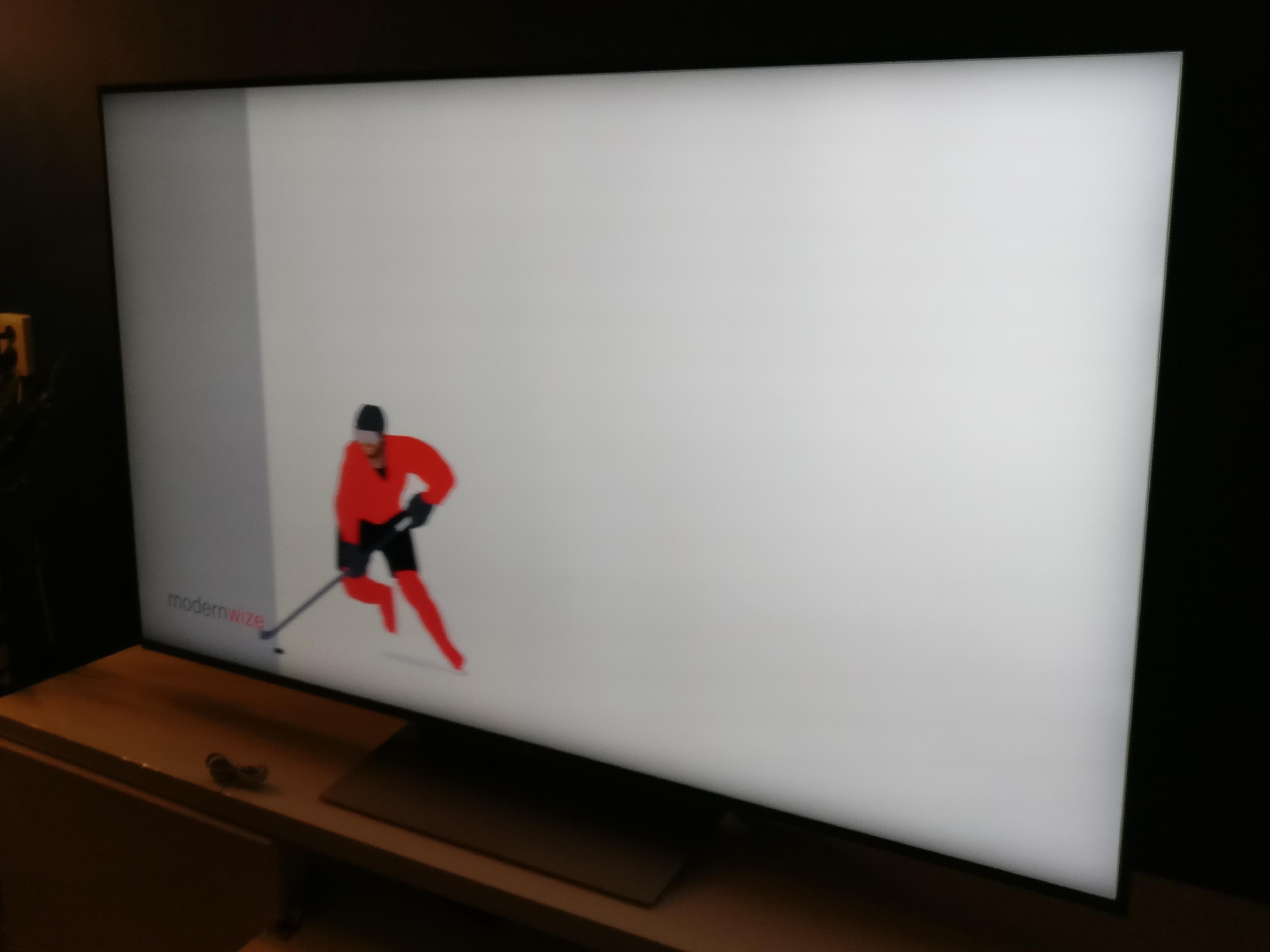 Nieuwe tv
