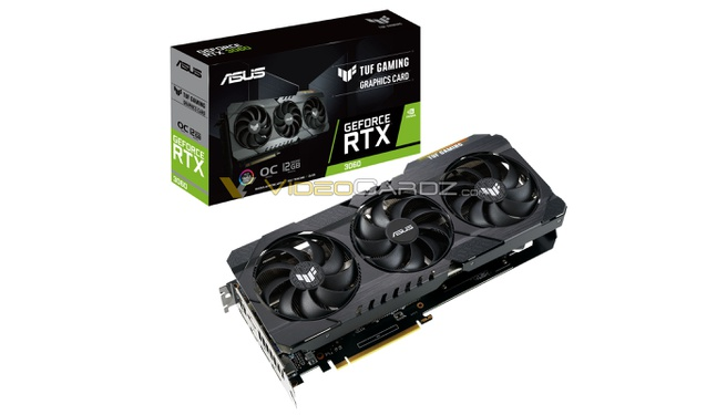 ASUS GeForce RTX 3060 TUF Gaming OC