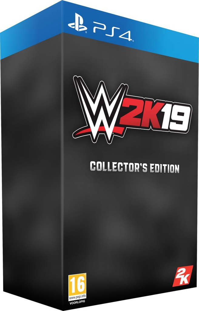 WWE 2K19 (Collector's Edition), PlayStation 4