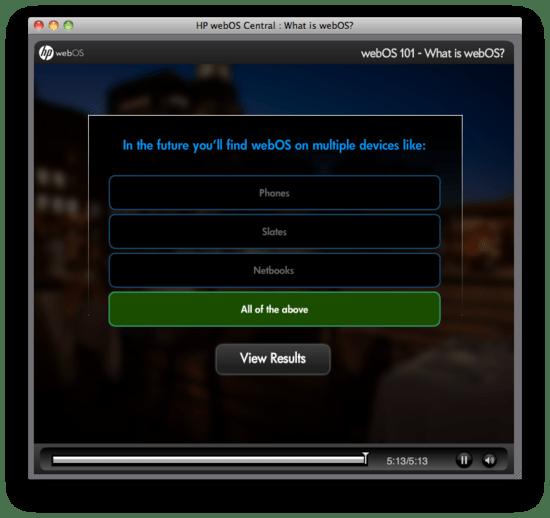 HP WebOS netbooks