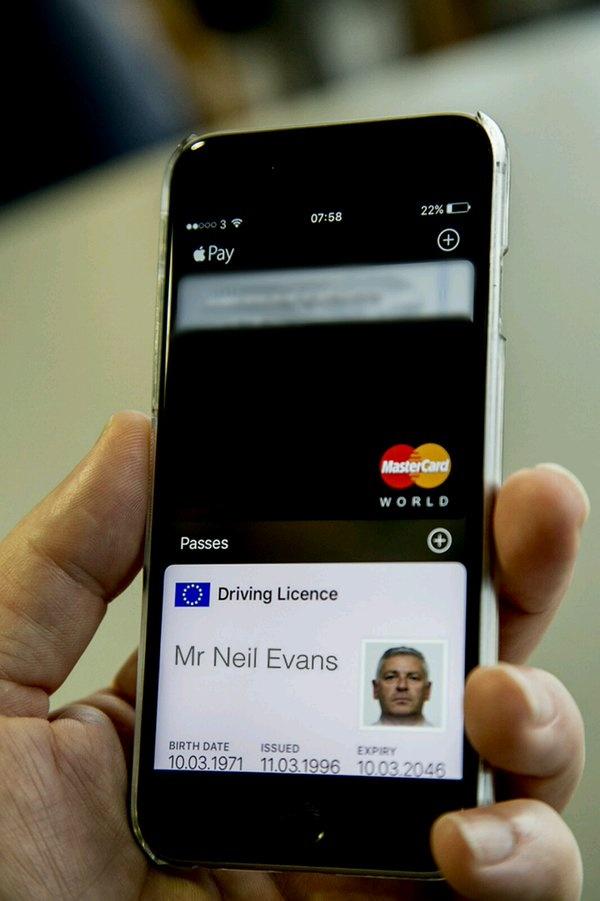 Rijbewijs in Apple Wallet