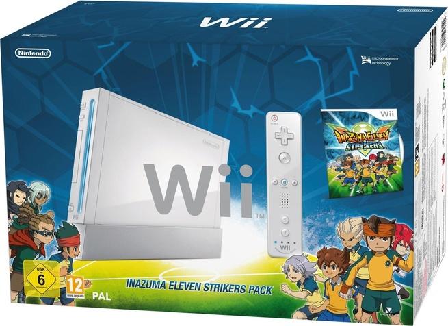 Nintendo Wii Nintendo Wii Inazuma Eleven Strikers Pack Wit Wit