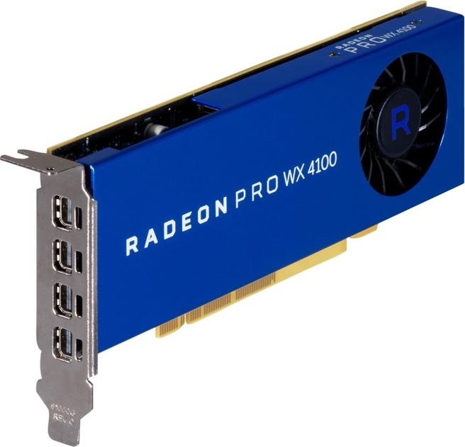 HP AMD Radeon Pro WX 4100 4-GB grafische kaart