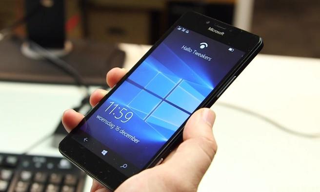 Irisscanner Lumia 950