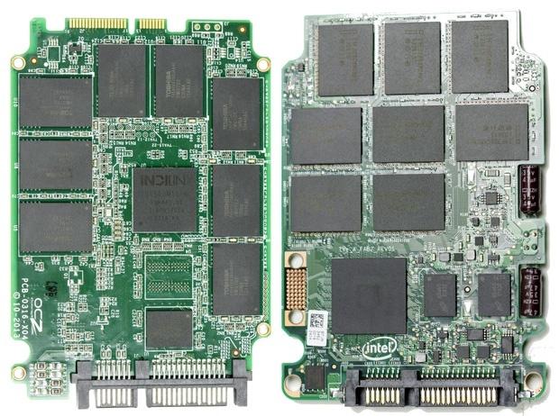 OCZ Vertex 460 en Intel 730