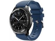 Goedkoopste qMust Sport armband voor Samsung Gear S3 Classic / Frontier - donkerblauw