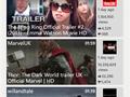 YouTube voor Windows Phone 8