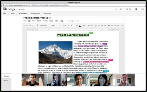 Hangouts met Google Apps-gebruikers