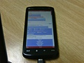 HTC Touch HD of HTC Blackstone