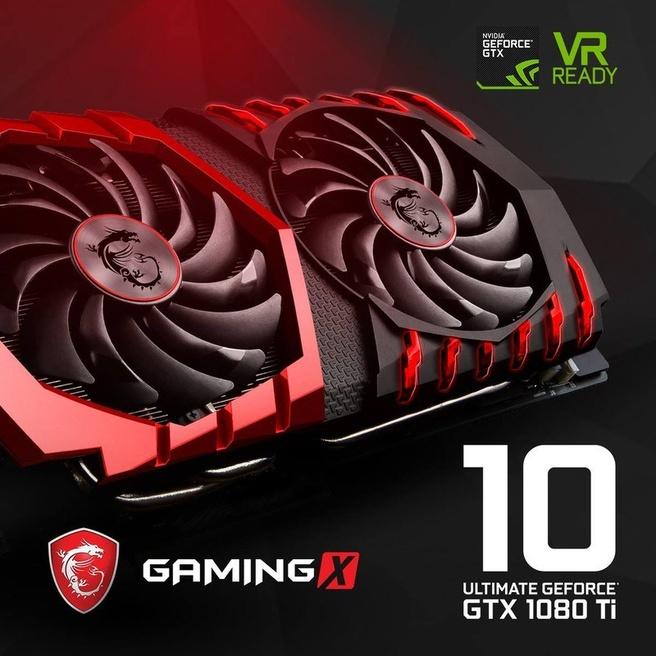 MSI GTX 1080 Ti Gaming X
