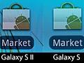 Galaxy S II en Galaxy S pixelvergelijking