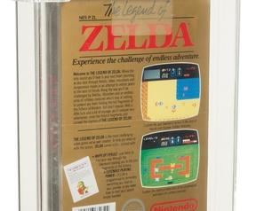 Zelda NES Asta luglio 2021