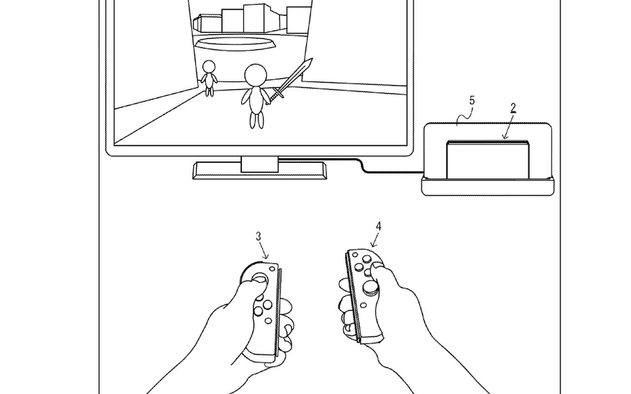 Nintendo Switch-patenten