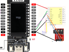 TTgo-display DF player