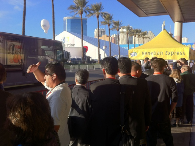 Las Vegas CES 2012
