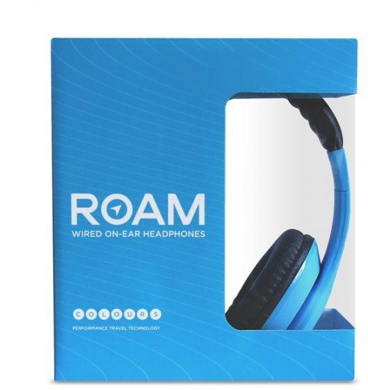 Roam Headphones Wired On-Ear Colours (Blauw, Zwart)