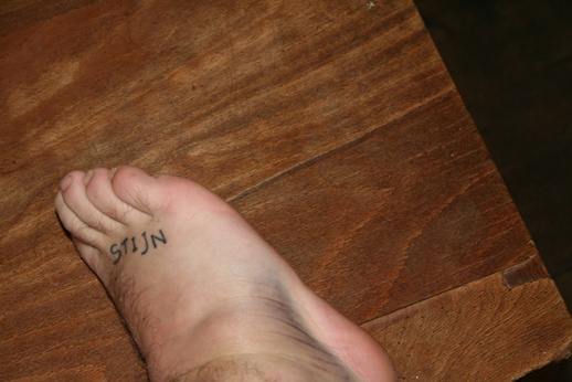 tattoo voorbeelden voet