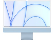 "Apple iMac 24"" Retina 4.5K (2021) M1, 8-core GPU, 8GB, 256GB ssd (Qwerty toetsenbord), Blauw"