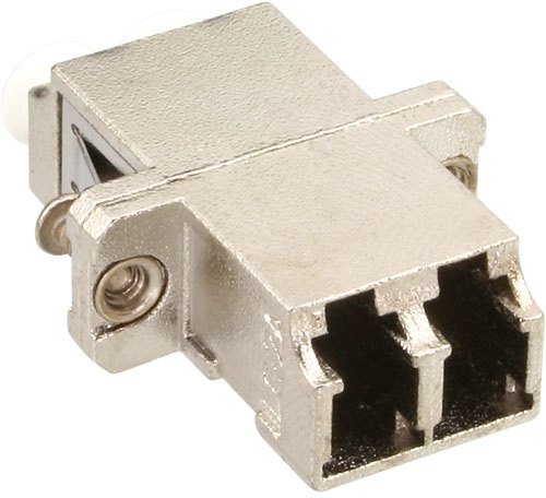 InLine Duplex LC/LC, MultiMode, with flange