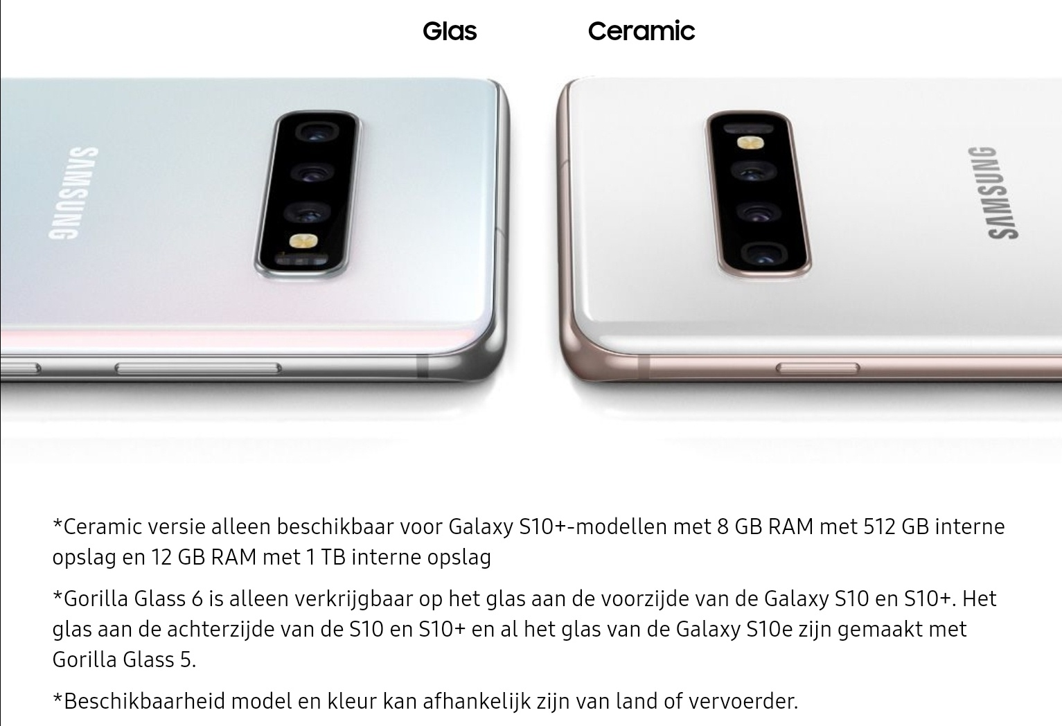 Samsung Galaxy S10 Prism White Ceramic White