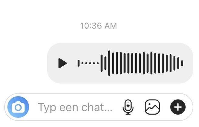 Instagram voice chat