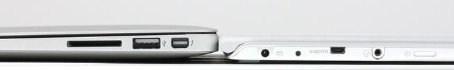 Apple MacBook Air 13 inch & Acer Aspire S7