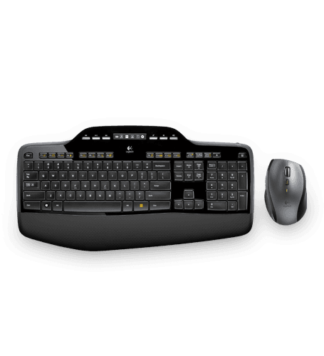 Logitech Wireless Desktop MK710 (Qwerty US)