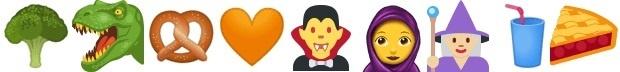 Nieuwe emoji's in Unicode 10.0.0