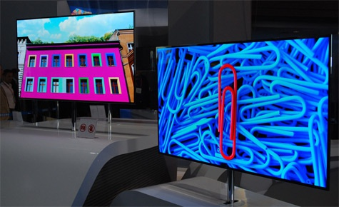 Samsung ES9500-oled-tv CES 2012