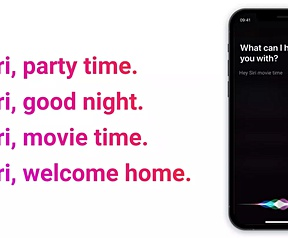 Homey Siri Shortcuts
