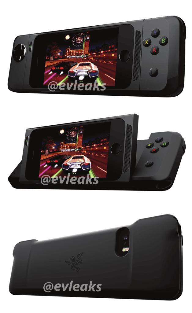 Razer iPhone-gamecontroller