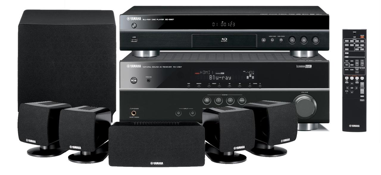 Hedendaags Yamaha BD-Pack 300 Home Cinema Set - Kenmerken - Tweakers WY-62