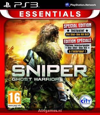 Sniper: Ghost Warrior (Essentials), PlayStation 3