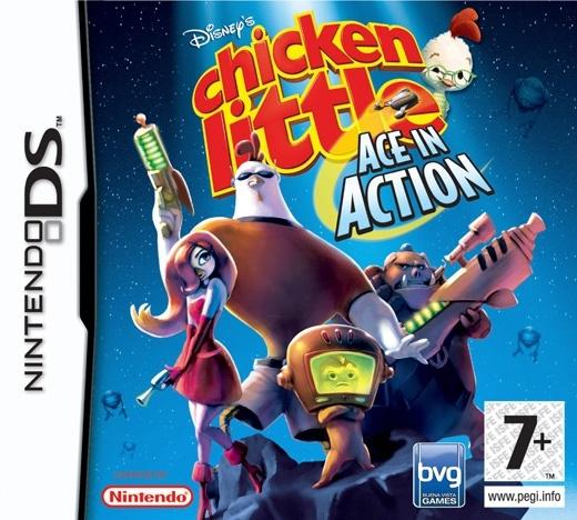 Packshot voor Disney's Chicken Little: De Avonturen van Ace