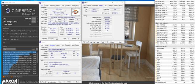 Athlon 3000G overklok