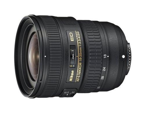 Nikkor 18–35mm f/3.5–4.5G ED