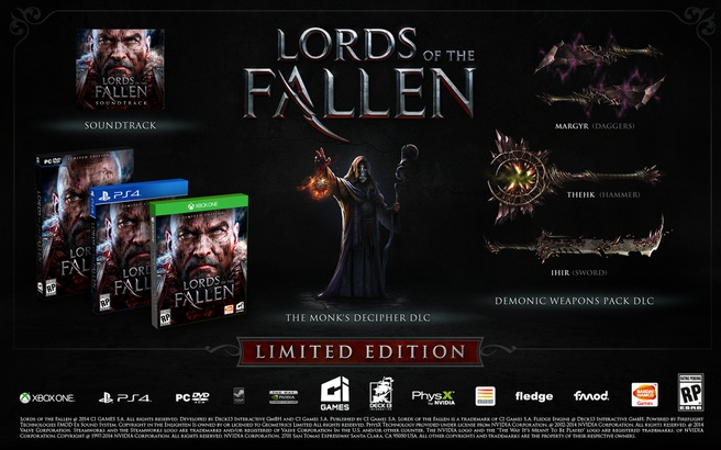 Lords of the Fallen Limited Edition, PC (Windows)