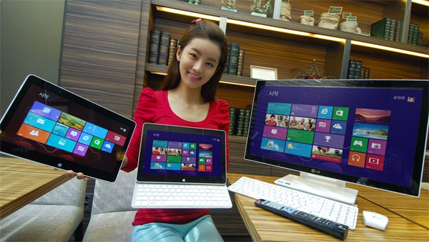 LG slidertablet all-in-one-pc touchscreen Windows 8