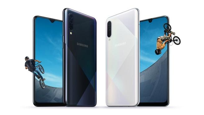 Samsung Galaxy A30s en A50s