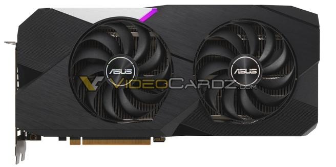 Render ASUS Radeon RX 6700 XT Dual 12GB via VideoCardz
