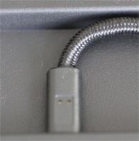 ruimte voor kabel achterkant k