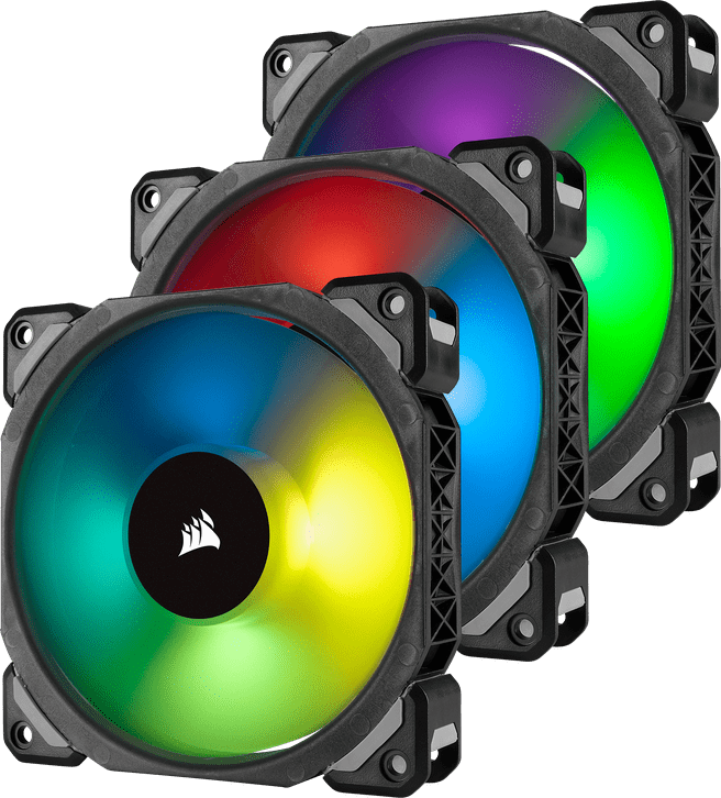 Corsair ML120 PRO RGB LED PWM (Triple Pack), 120mm