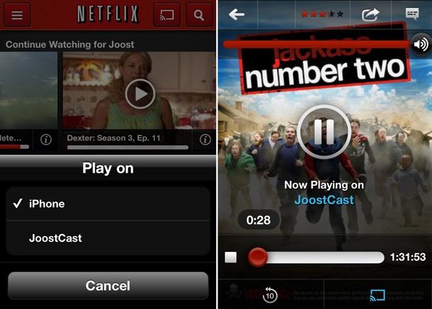 Netflix streamen naar Chromecast