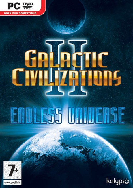 Galactic Civilizations 2, Endless Universe  (DVD-Rom), PC