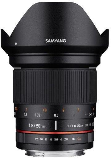 Samyang Optics 20mm F1.8 ED AS UMC (MFT)