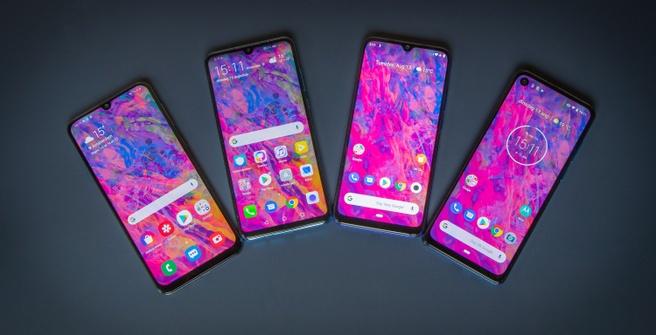 Midrange-smartphones in 2019