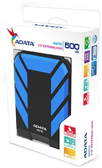 Adata HD710 500GB Blauw