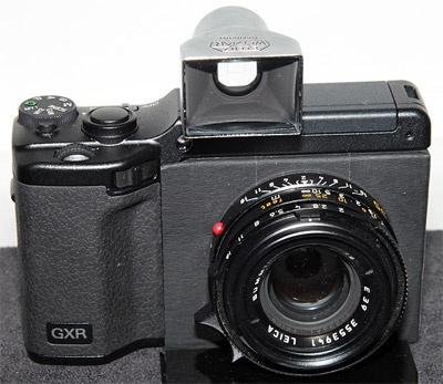 Ricoh GXR Leica M-module (prototype)
