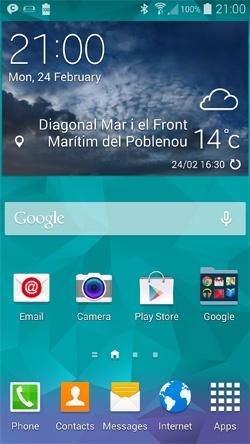Galaxy S5 TouchWiz